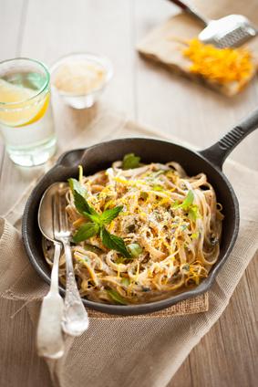 Linguine al limone ricetta