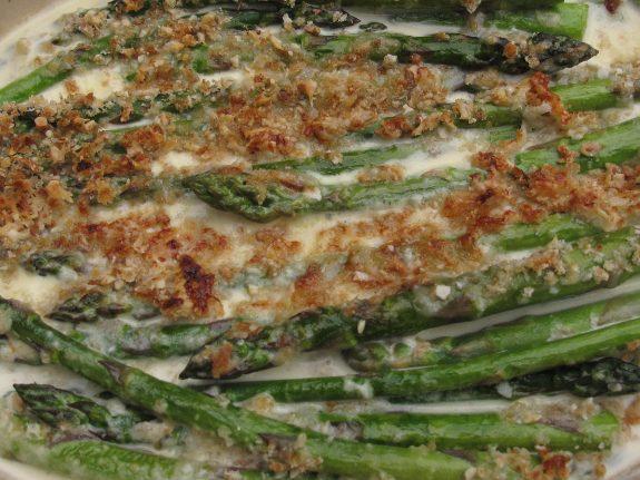 gratin asparagi