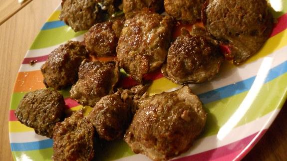 Ricette veloci con la carne polpette leggere al forno for Ricette leggere