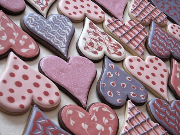 san valentine's day cookies