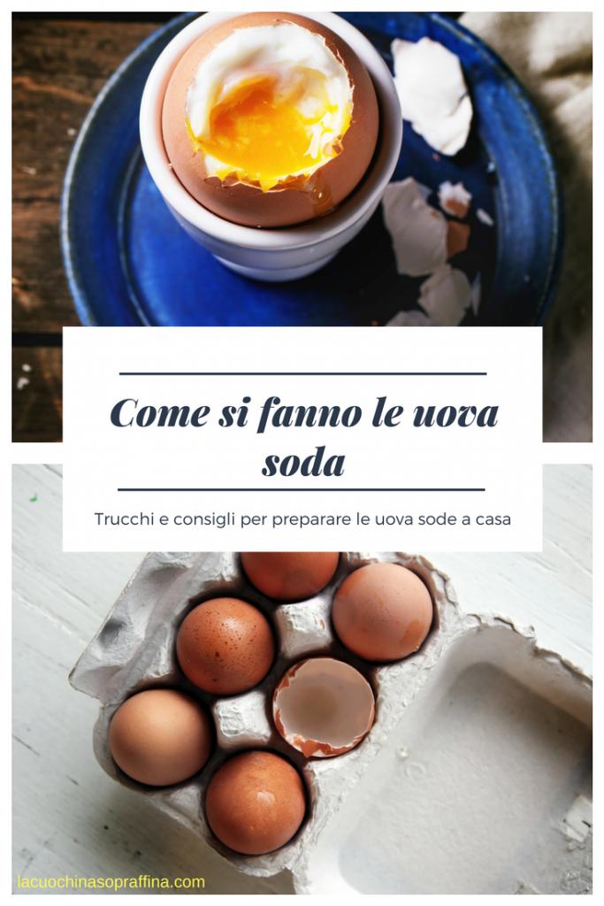 come si fanno le uova sode