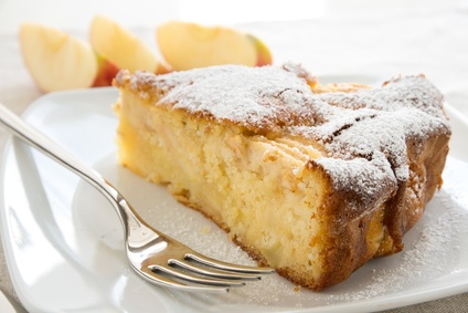 torta di mele a casa