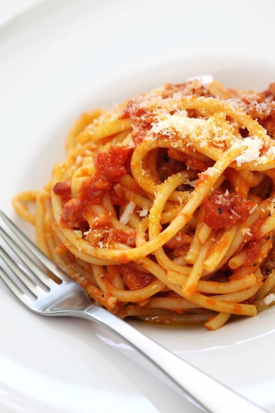 Ricetta Amatriciana Con Cipolla.Ricetta Amatriciana Originale Di Amatrice Ricetta Bucatini All Amatriciana