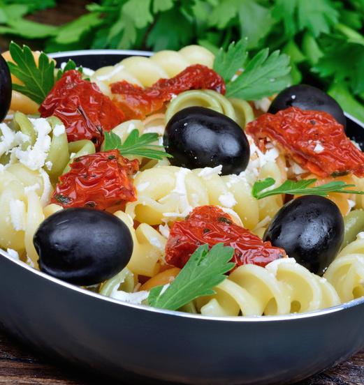 pasta fredda feta e olive
