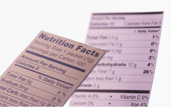 etichetta alimentare