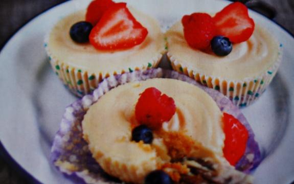 Ricette dolci estivi mini cheesecakes al cioccolato for Ricette dolci estivi