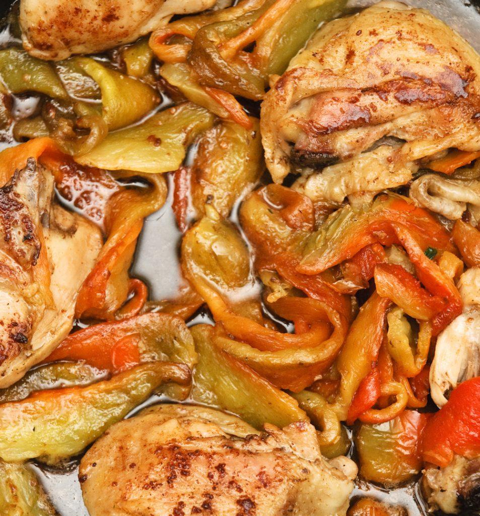 Ricetta crepes con i peperoni