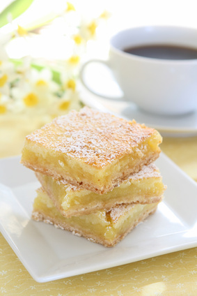 lemon bars ricetta