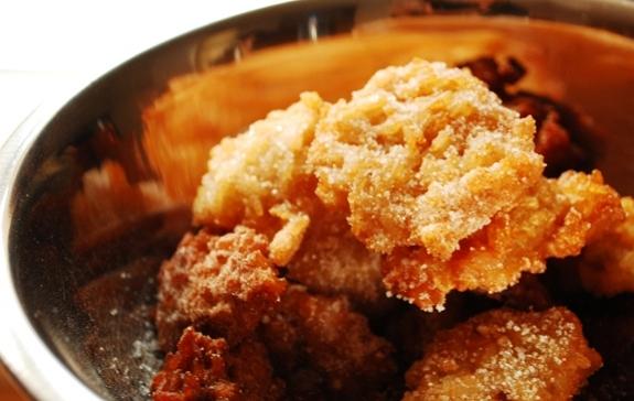 frittelle zucca riso