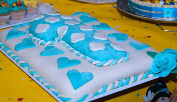 pasta zucchero colorata