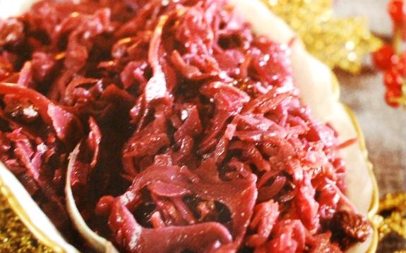 Cavolo rosso con vino e mele