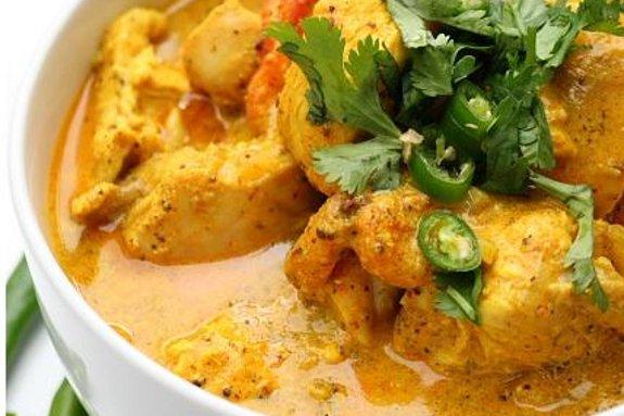 pollo curry goa