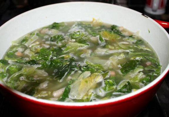 zuppa scarola romana