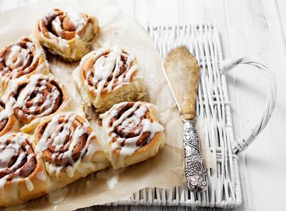 Cinnamon rolls ricetta