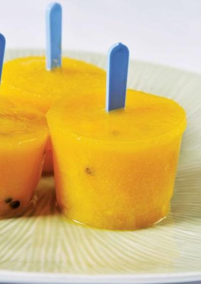 ghiaccioli frutta fresca