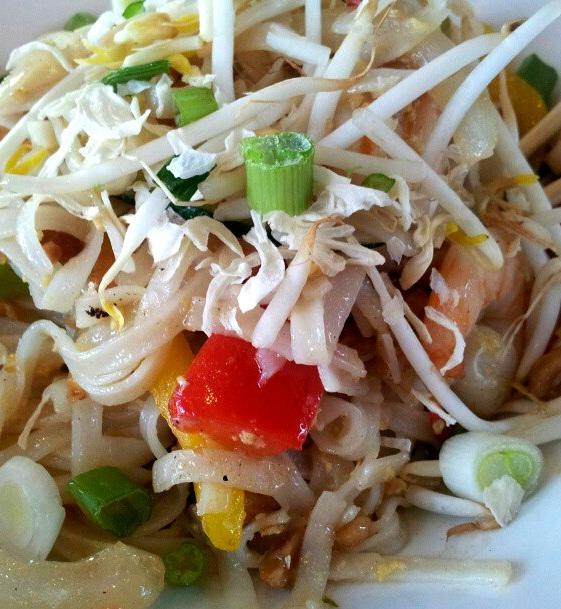 pad thai al pollo