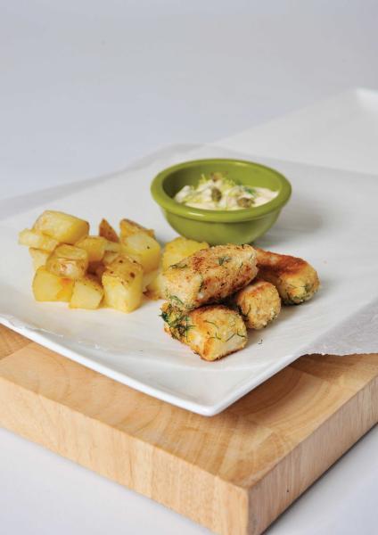filetti di pesce fritti