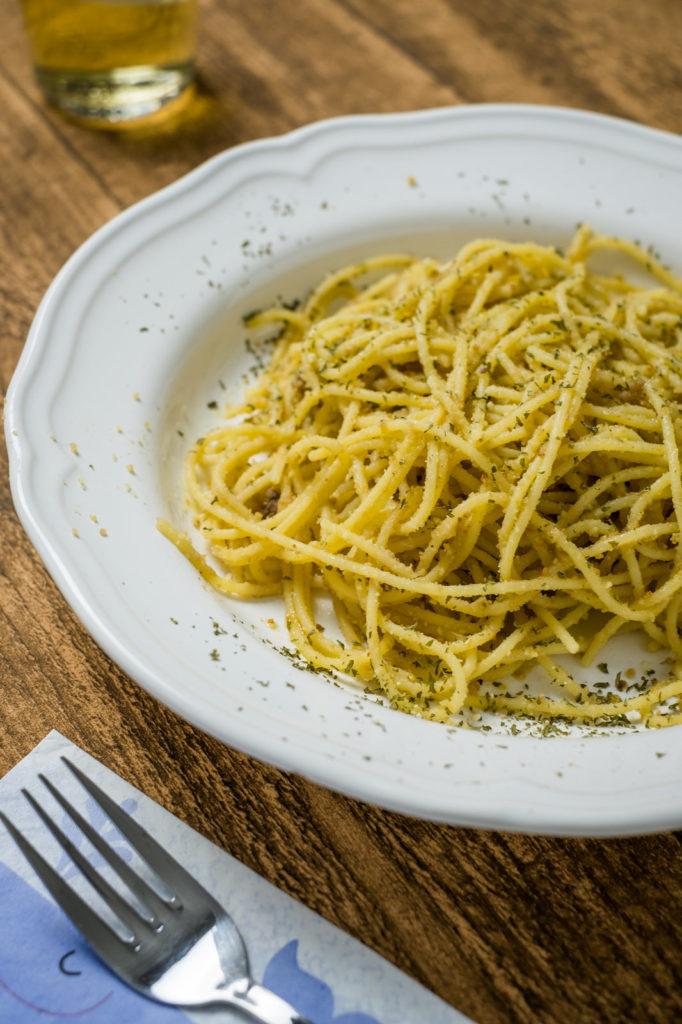 pasta mollica siciliana