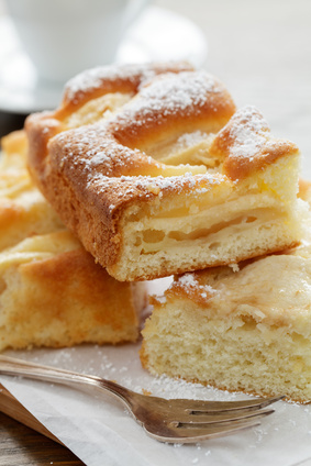 Torta di mele senza uova e senza burro ricetta