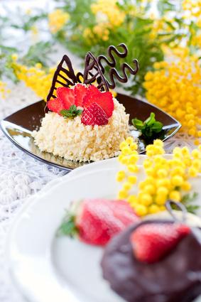 torta mimosa al cioccolato ricetta