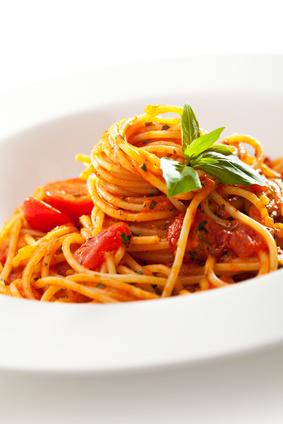 Spaghetti checca roma