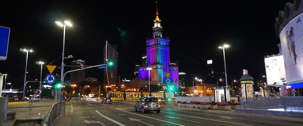 Varsavia notte
