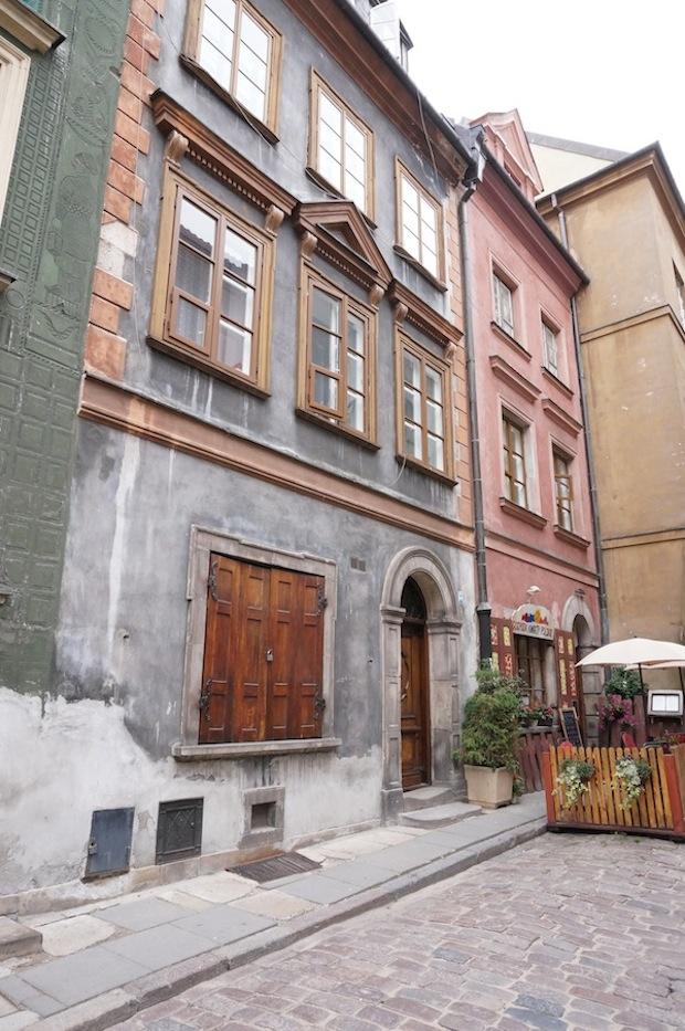 città vecchia varsavia