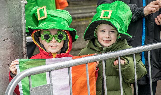 bambini irlandesi