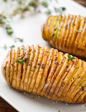 Hasselback patate