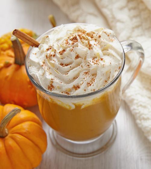 Pumpin spice latte