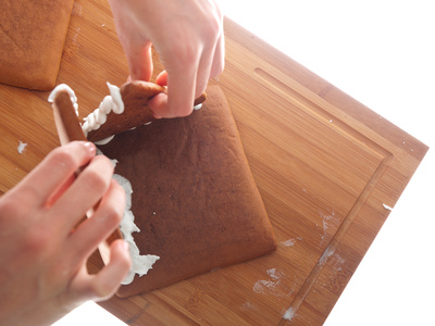 gingerbread house how to