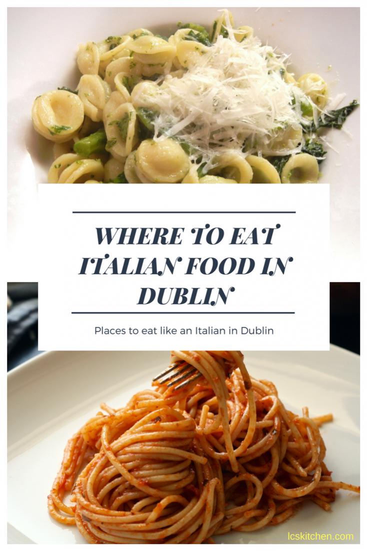 Italian Food Dublin