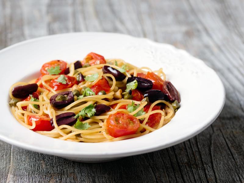 italian pasta puttanesca
