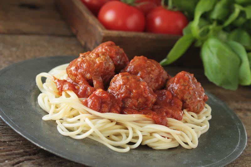 Spaghetti mealballs recipe