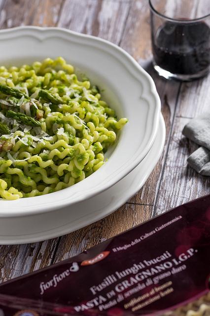 pasta crema asparagi