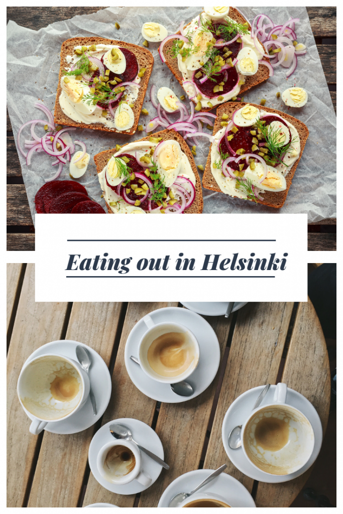 Eating out in Helsinki