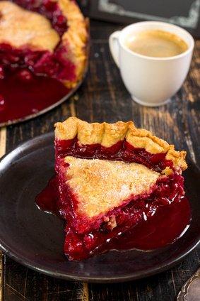 Cherry pie ricetta americana - crostata di ciliegie