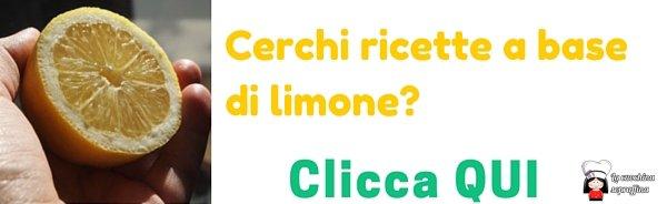 ricette a base di limone