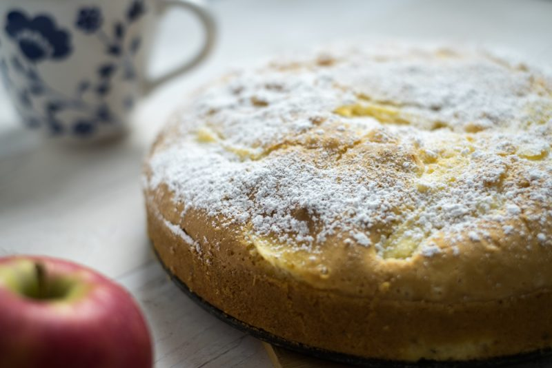 Torta di mele senza glutine ricetta