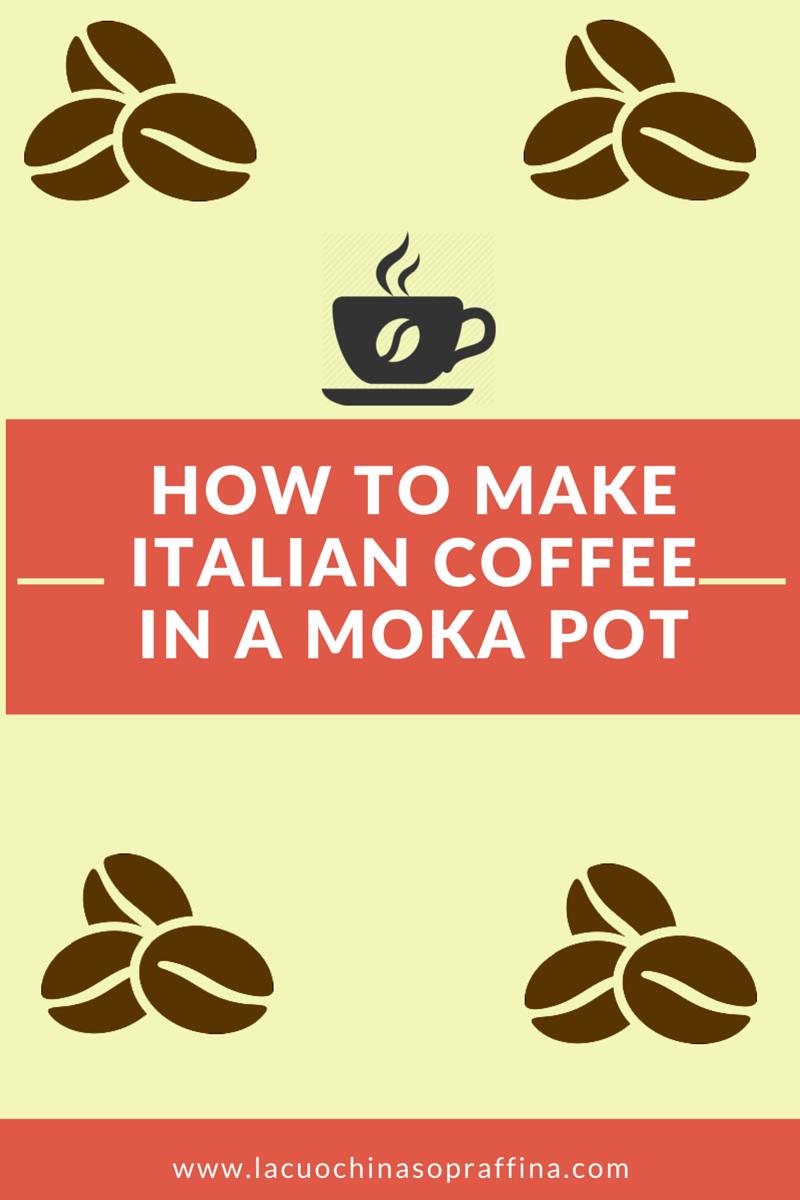 making moka coffee