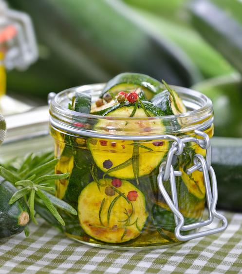 ricetta zucchine sott'olio