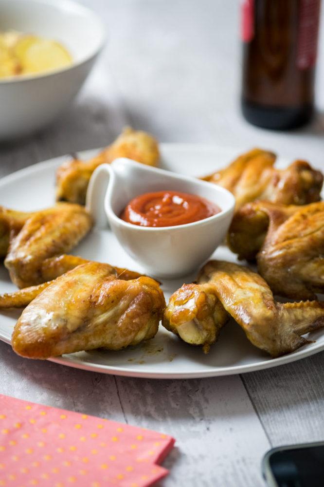 Ali di pollo ricetta