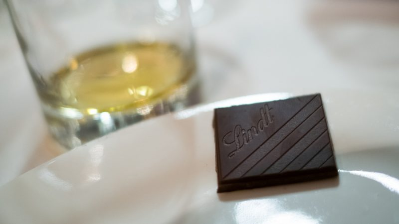 Lindt Excellence whiskey