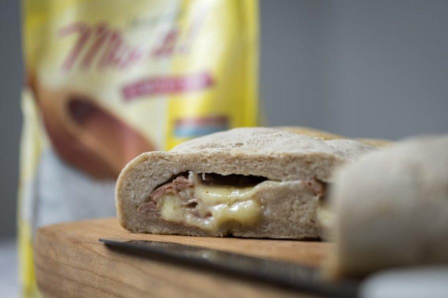 Pane senza glutine farcito