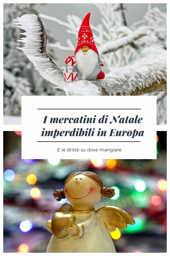Mercatini Natale in Europa