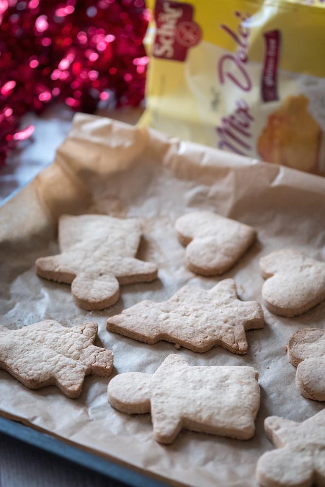 Biscotti natale senza glutine