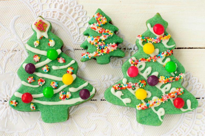 Biscotti decorati con la ghiaccia