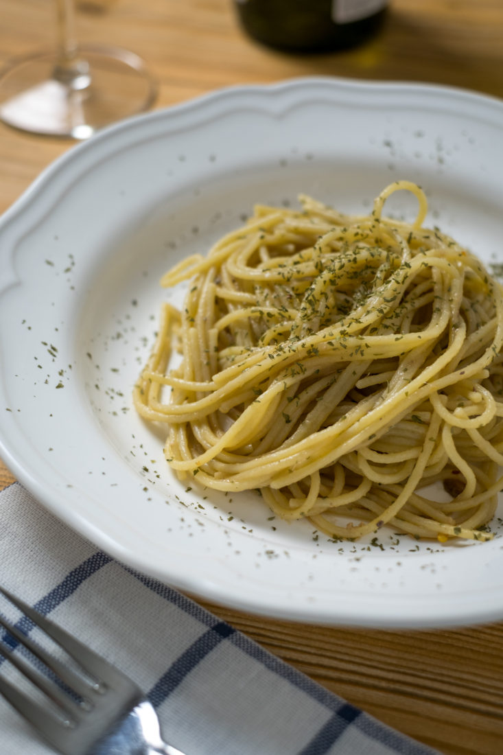 Spaghetti con colatura di alici di cetara la ricetta for Spaghetti ricette