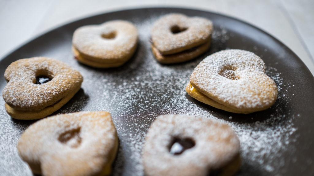 biscotti di frolla cuore