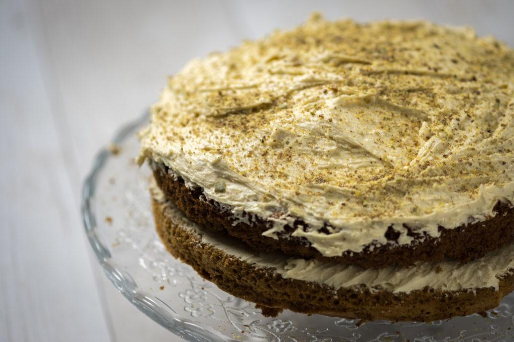 torta caffè e buttercream